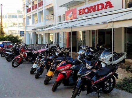 Honda Lefkas